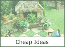 Cheap Backyard Makeover Ideas 20 amazing backyard ideas that wont break the bank page 14 of 20 Garden Design With Backyard Makeover Ideas Easy Landscape Design Plans With Small Evergreen Shrubs For Landscaping