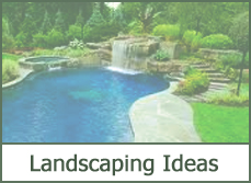 Swimming pool landscaping ideas and pictures