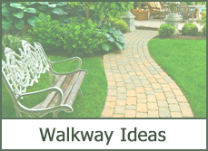 Pictures of walkway designs ideas and DIY building plans.