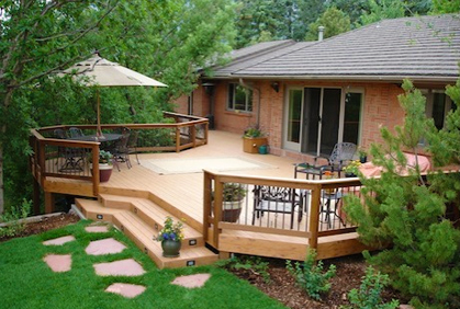 Landscaping to your Deck