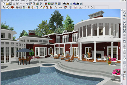 Free building design software programs 3d download for Building construction design software