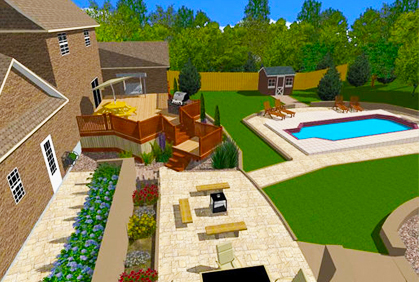 Free home design software 2018 downloads reviews for Home architect design software free download