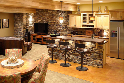 Diy Bar Ideas For A Basement Design Plans Amp Pictures
