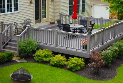 Synthetic Lumber for Decks