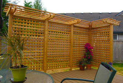 Deck Fencing Designs