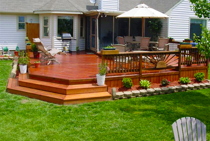 Top 2018 Wood Deck Designs Ideas & Pictures on Wood Deck Ideas For Backyard id=74566