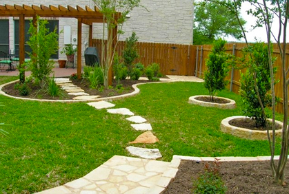 Landscaping ideas pictures 2017 designs plans for Simple landscape design plans