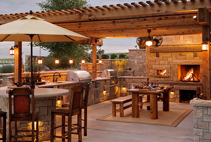 Patio Bar Design