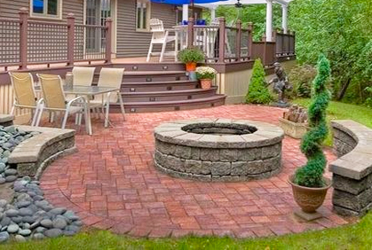 Deck and Patio Design Ideas, Backyard Pictures & Plans on Patio With Deck Ideas id=43044