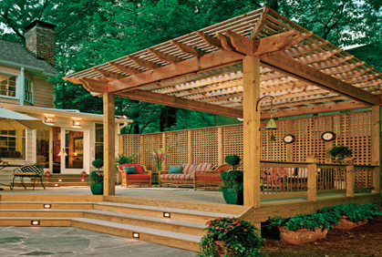 Top Deck Photos & Backyard Designs Ideas Pictures