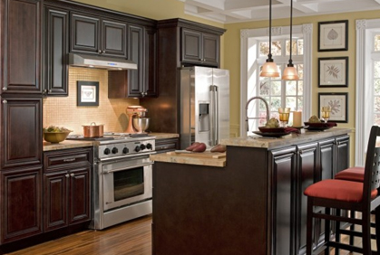 Kitchen Cabinets & Wall Tiles