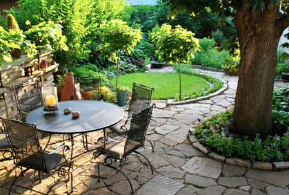 Stone Patio Pavers