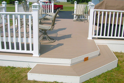Deck stain colors best restore paint coating for Painted deck pictures