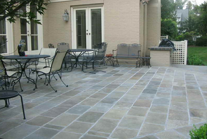 Top Patio Flooring Ideas Materials Pavers Concrete