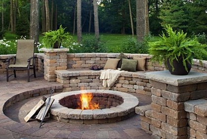 Custom Fire Pit Layouts