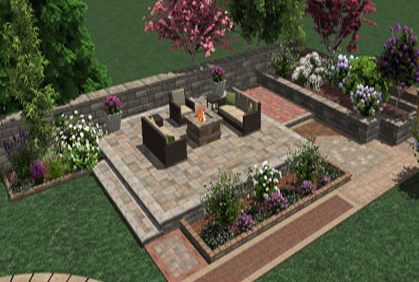 2018 online patio designer easy 3d software tools for Patio planner online free