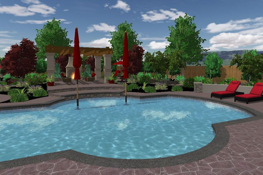 Free swimming pool design software online tool for Pool design app