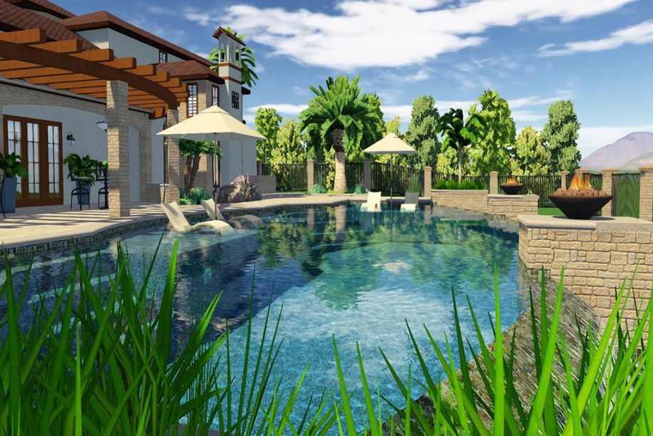 Free swimming pool design software online tool for Design my own pool