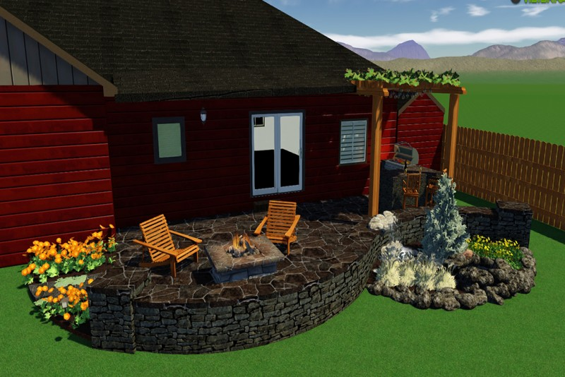 Build a Patio Online