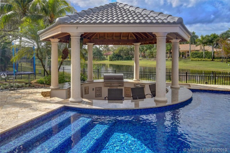 Gazebo Swimming Pool