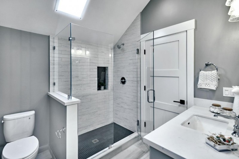 Gray Bathroom Paint