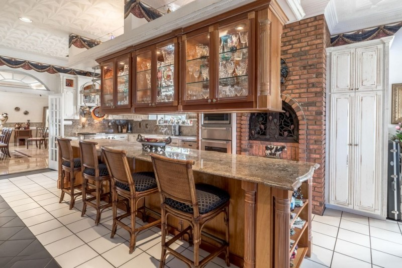 Brick Backsplash Kitchen