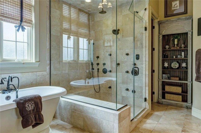 Glass Shower Walls
